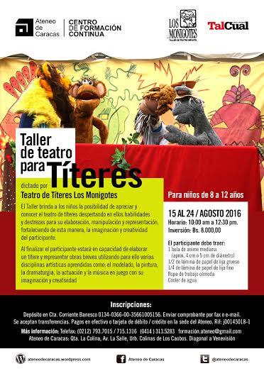 Taller de Teatro para Títeres 2